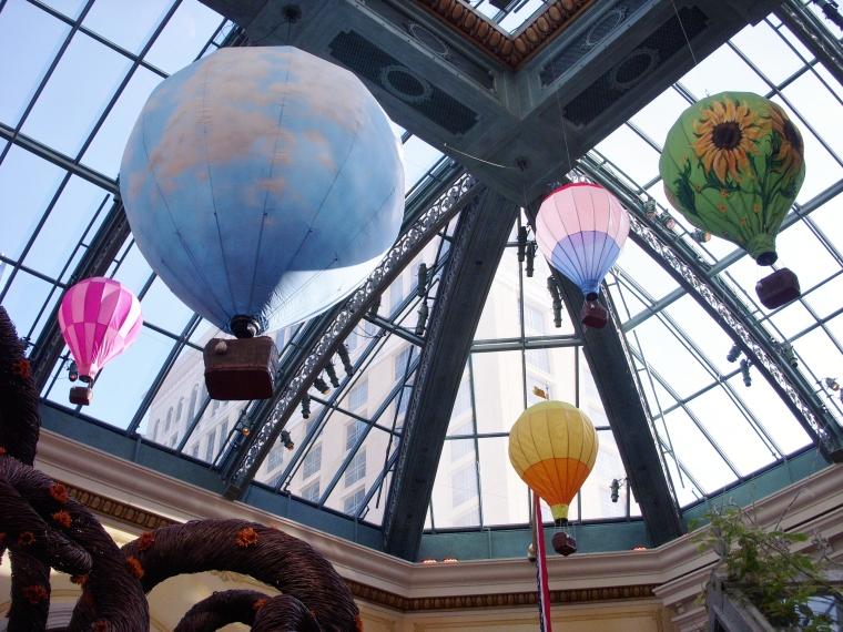 Hot Air Gondolas overhead