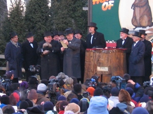 Groundhog Day 2005 by Aaron Silvers Wikimedia Commons